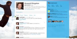 startup twitter profile