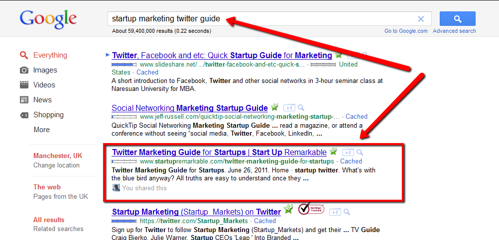 Startup SEO guide