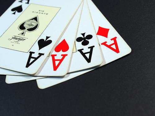 Winning hand.