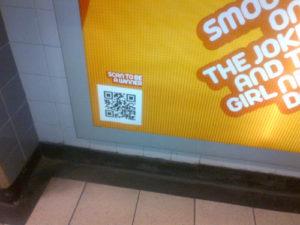 QR Code Underground