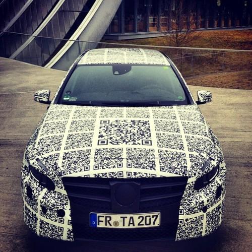QR Code cool car